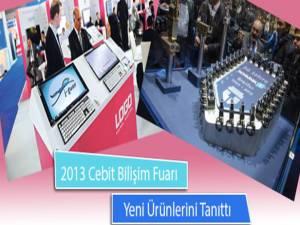 2013 Cebit Bilişim Fuarı Kapılarını Açtı ve Yeni Ürünlerini Tanıttı