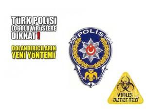 "İnternette ""Polis"" Virüsüne Dikkat Edin"