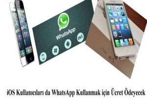iOS Kullanıcıları da WhatsApp Kullanmak için Ücret Ödeyecek